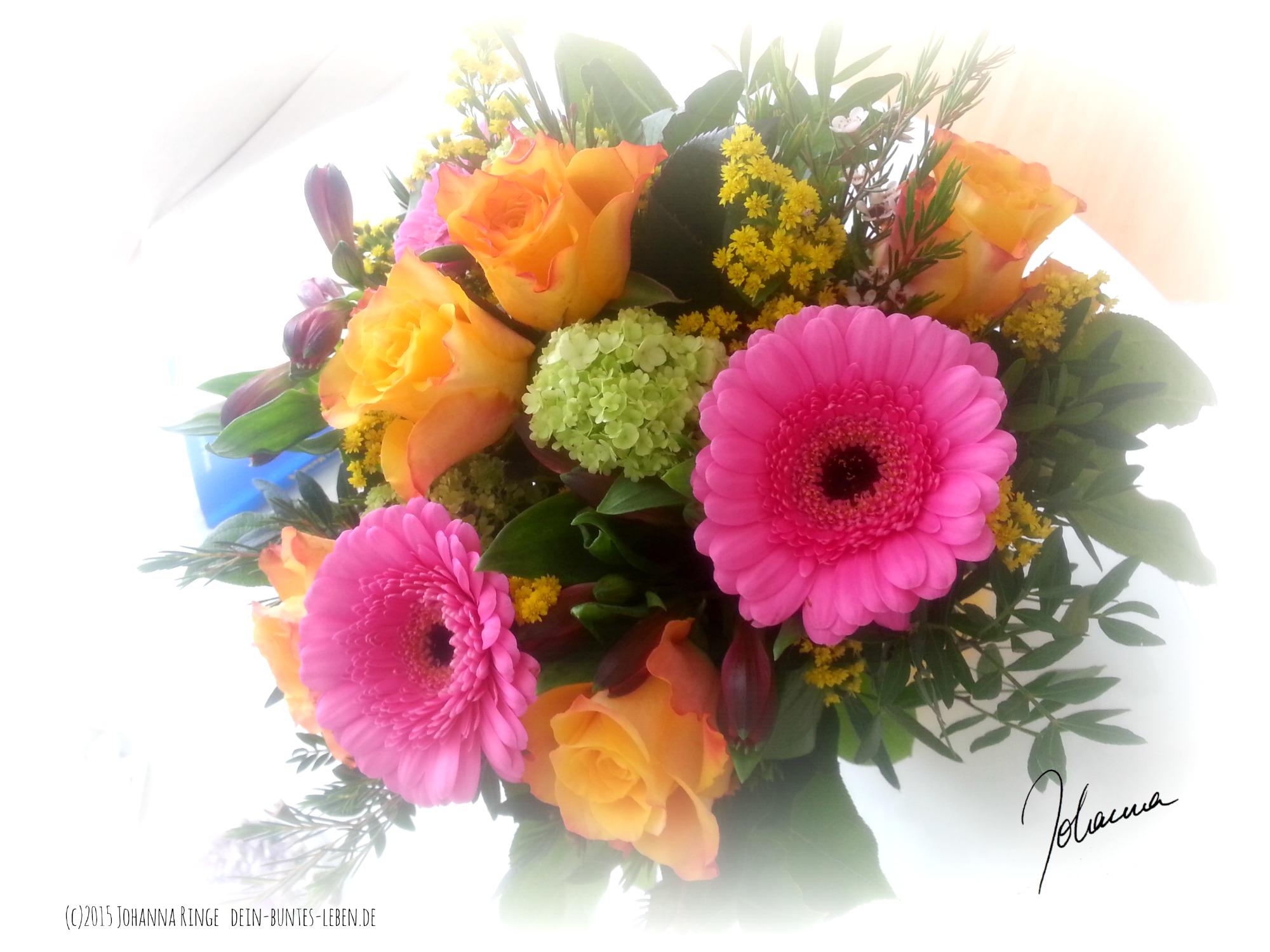 Blumenstrauß an Gaben (c) 2015 Johanna Ringe dein-buntes-leben.de