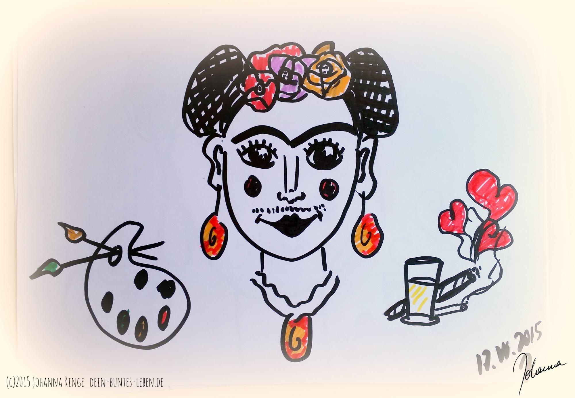 Deine innere Frida (c)2015 Johanna Ringe dein-buntes-leben.de