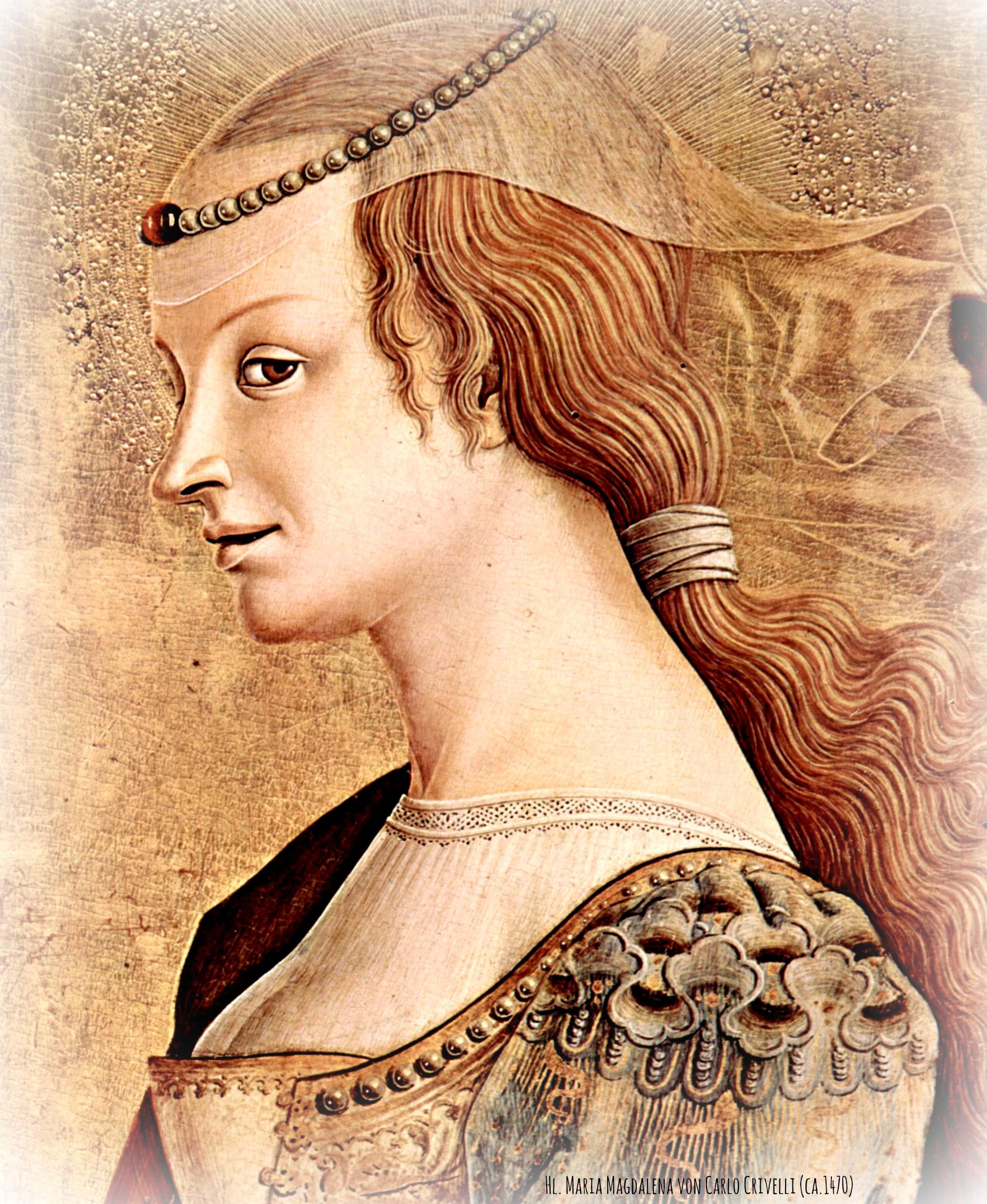 Renaissance Frau - Bild von Carlo Crivelli - http://dein-buntes-leben.de