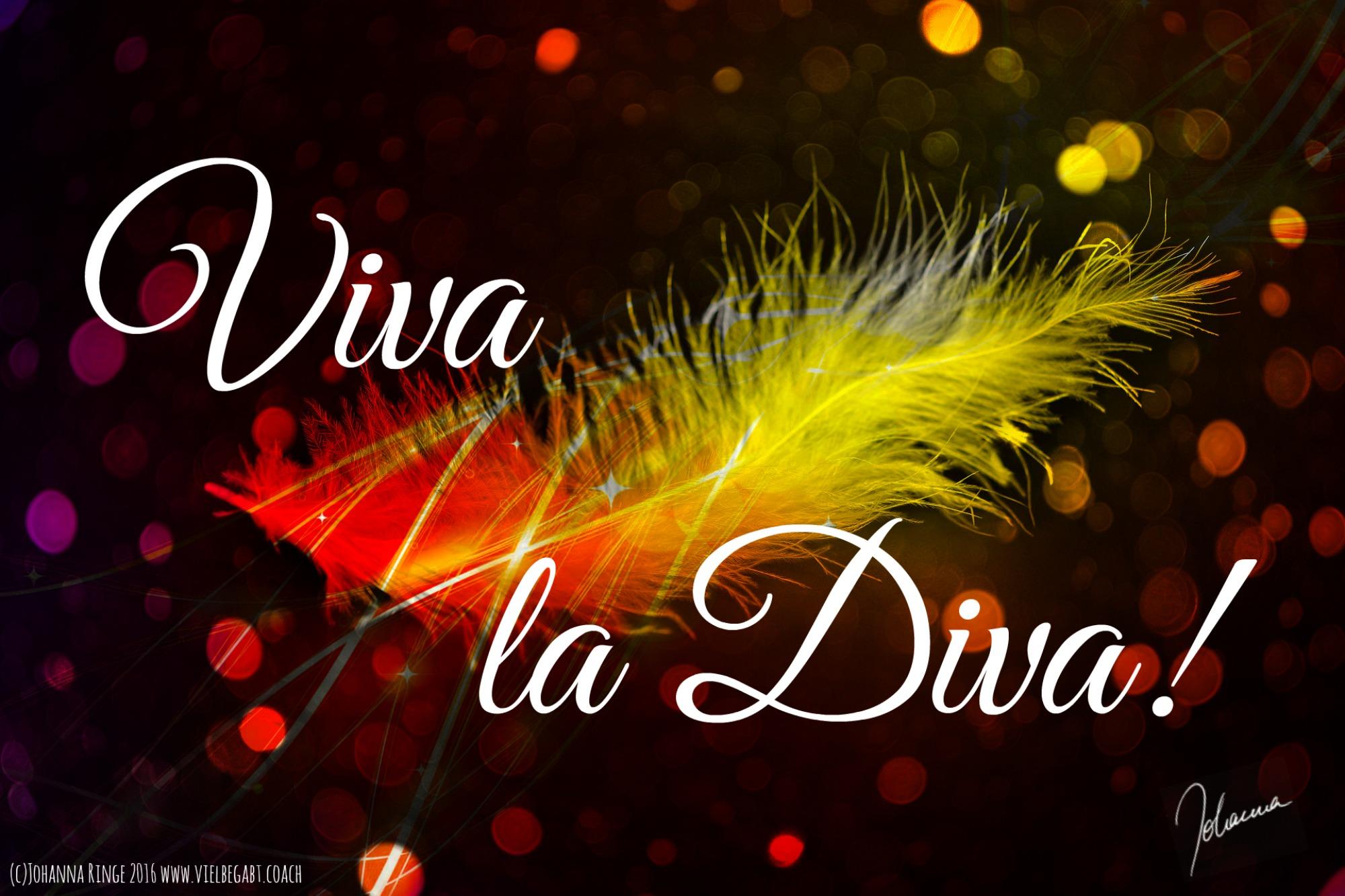Viva la Diva! (c)Johanna Ringe 2016 dein-buntes-leben.de , vielbegabt.coach