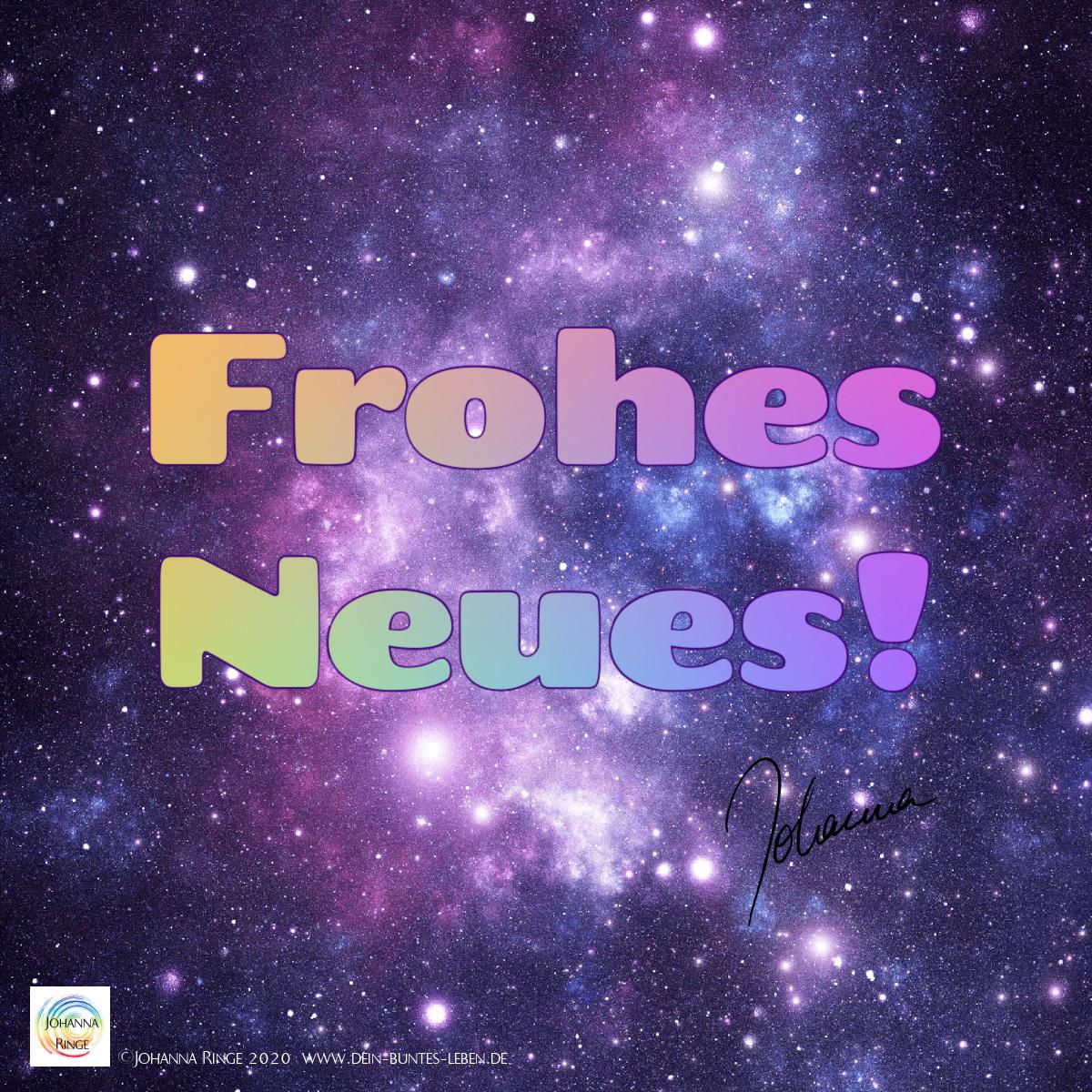 Frohes Neues Jahr 2021 wünscht ©Johanna Ringe 2020 www.dein-buntes-leben.de