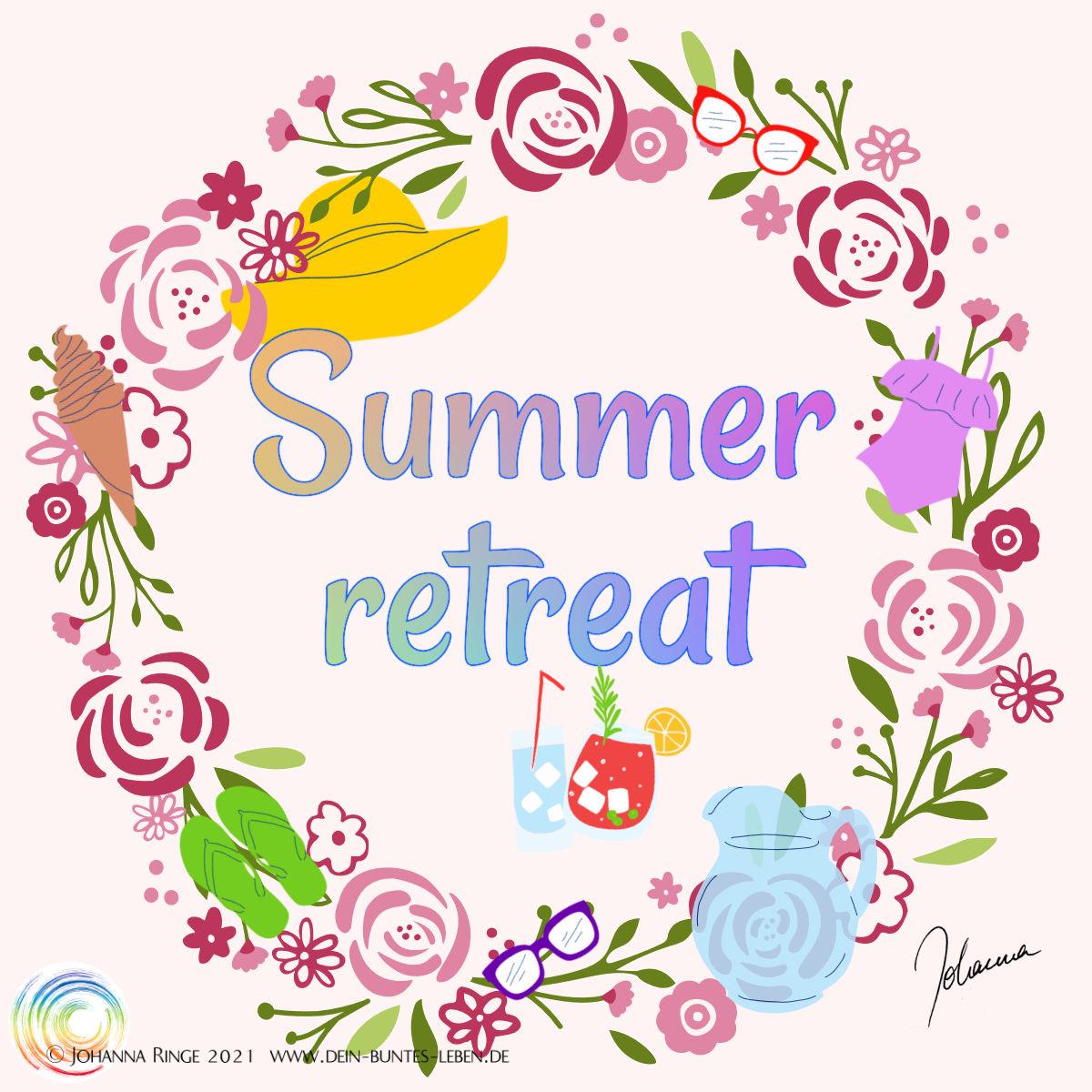 Summer retreat! ©Johanna Ringe 2021 www.johannaringe.com